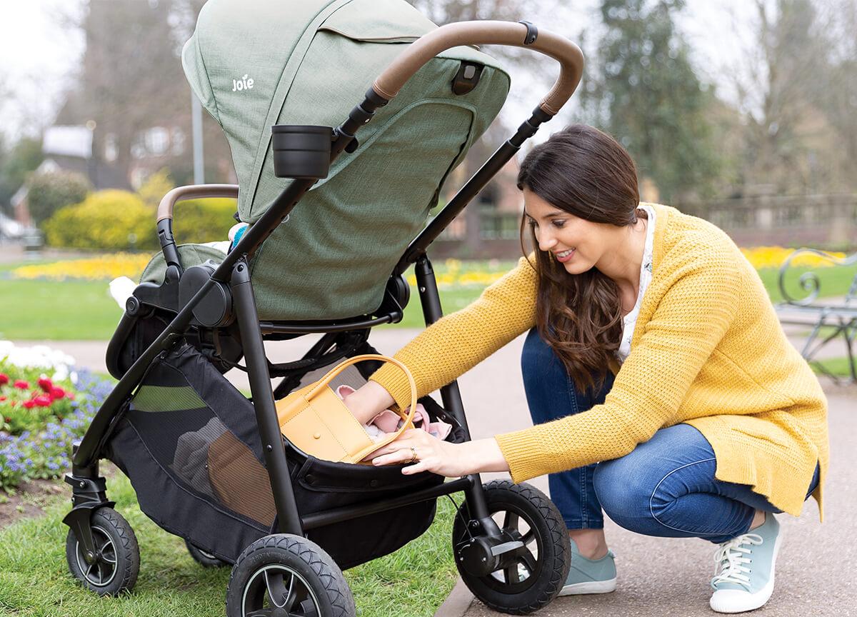 Otroški voziček za vsa starostna obdobja otroka